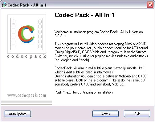 Codec Pack All-In-1